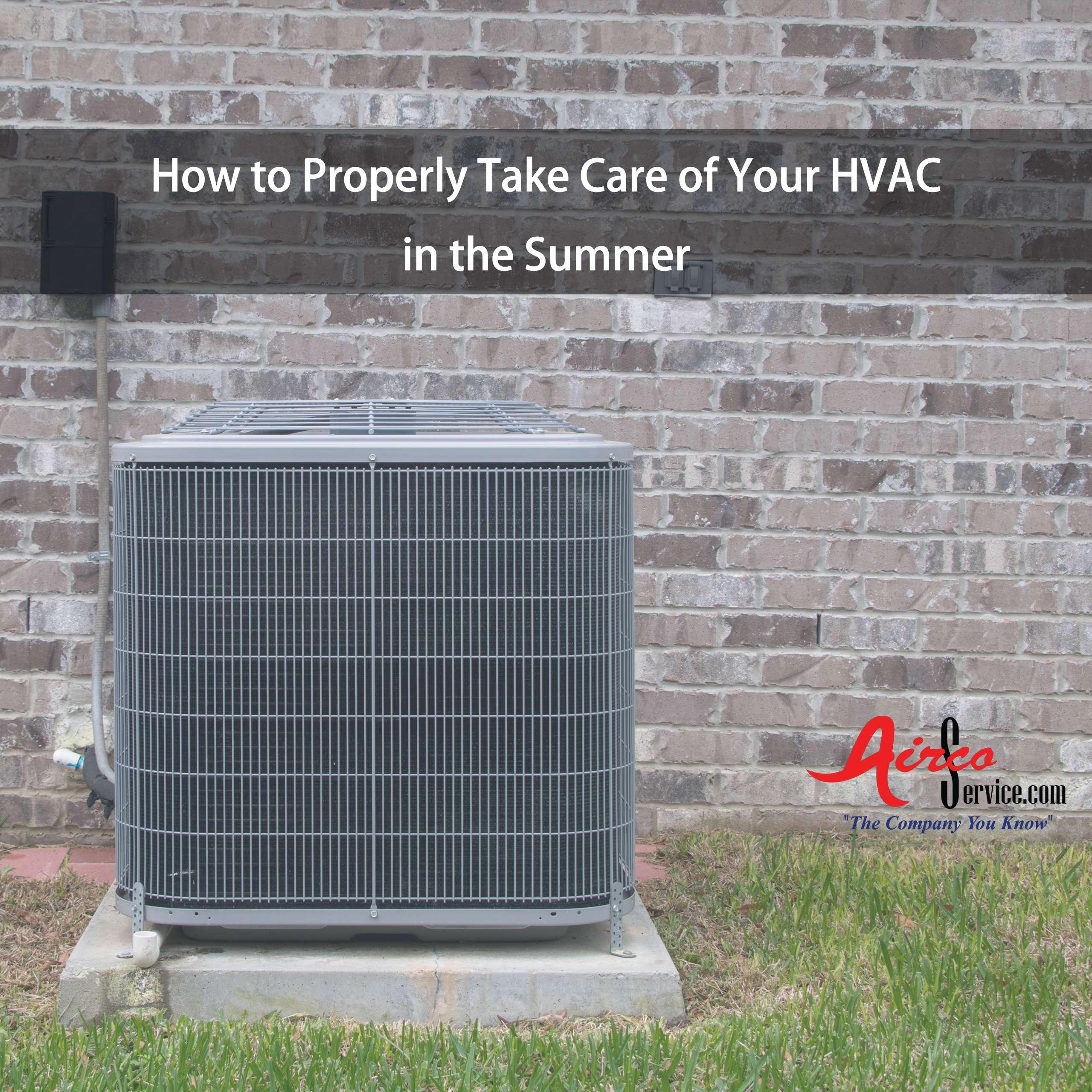 HVAC | Summer AC Care